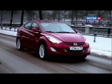 Тест драйв Hyundai Elantra 2012 АвтоВести 42