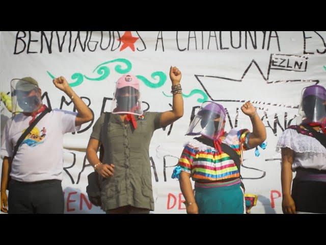 Resum Benvinguda Zapatistes a Catalunya
