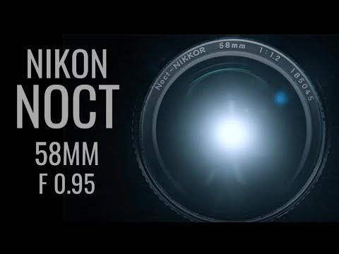 TOTALLY AWESOME Nikon Z-Mount NOCT 58mm 0.95 Lens!!!