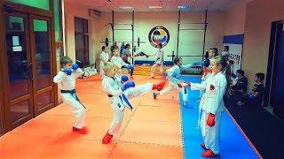 Урок спортивного каратэ для детей WKF/Karate for Children/KARATE CLUB