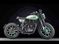 Custom Royal Enfield Classic 500 Green Fly