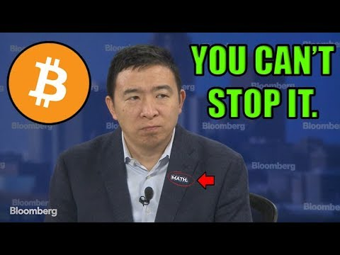 Bitcoin Bull Run Confirmed! Andrew Yang Says Bitcoin Is Inevitable!