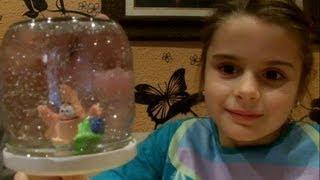 DIY: Cómo hacer una BOLA de NIEVE con un tarro de cristal