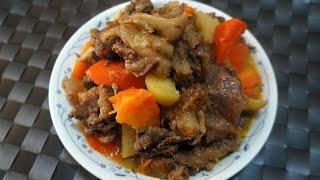 香港食譜 : 番茄薯仔燜牛腩