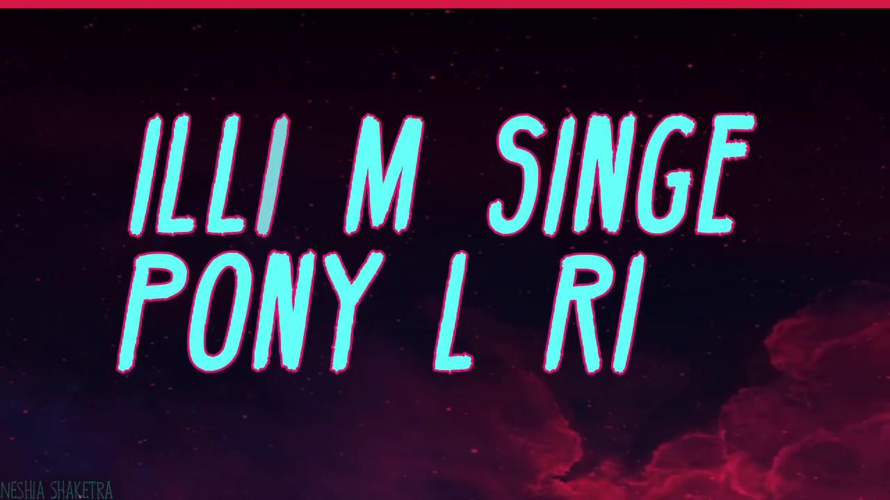 Ginuwine- Pony (Lyrics on screen) - YouTube
