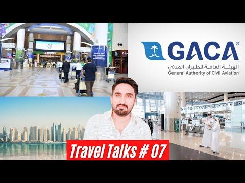 Travel Talks #007 - GACA Institutional Quarantine News, Kuwait Partial Curfew Lift, UAE Ban Flights