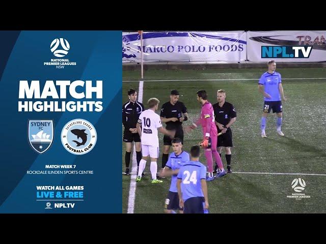 NPL NSW Men's Round 7 – Sydney FC v Sutherland Sharks