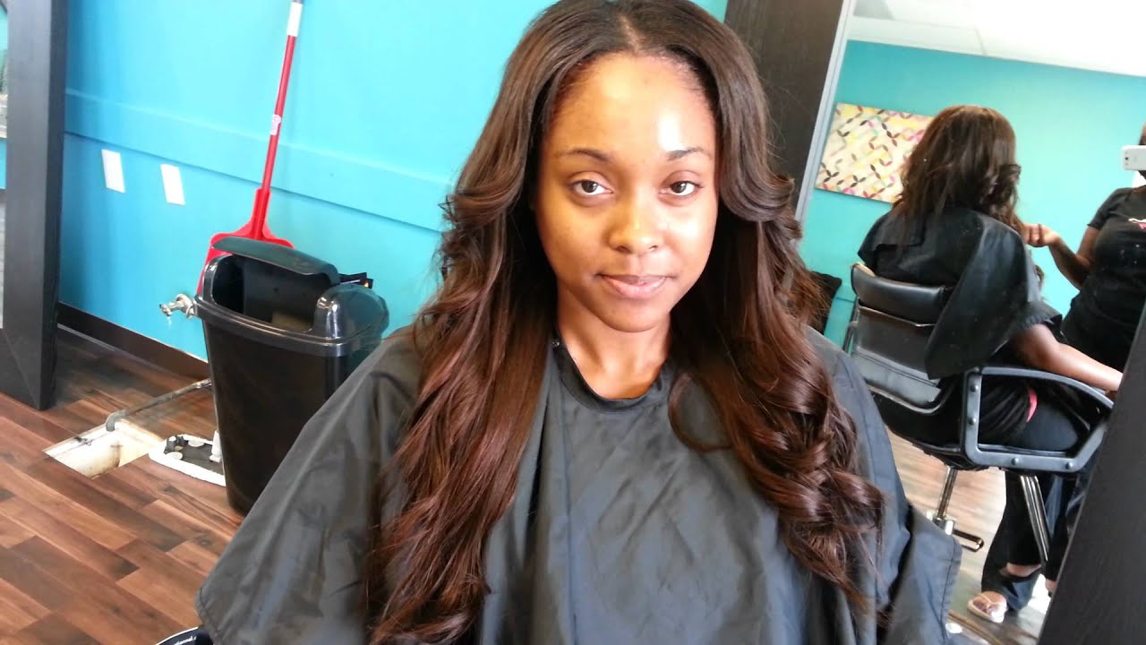 Hair Weave / Extensions Salon in Cary NC , - YouTube