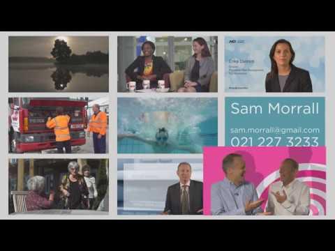 Sam Morrall Show Reel 2017
