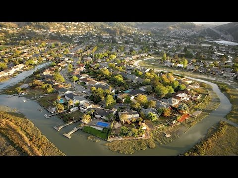 Corte Madera from Above // Marin County // Aerial Drone Video