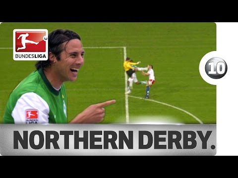 Top 10 Moments – Hamburg vs. Werder Bremen