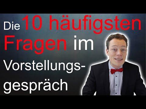 Vorstellungsgespräch Fragen Und Antworten: Die 10 Häufigsten Fragen – Perfekt Antworten // M. Wehrle