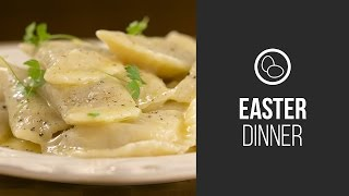 Varenyky (dumplings With Sauerkraut) || Around The World: Easter Dinner || Gastrolab
