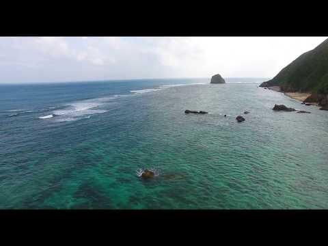 [4K]  天仁屋ビーチ Drone Footage   okinawa islands Japan 沖縄 ドローン