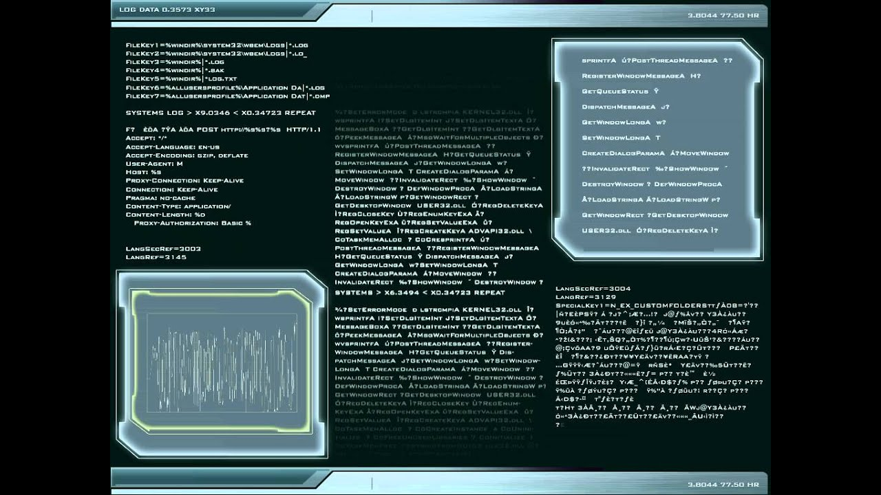 Star Gate Atlantis Data display 1 of 6
