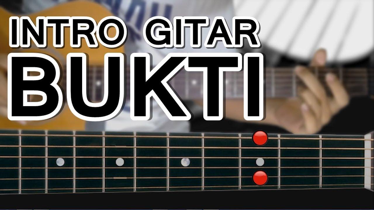 Belajar Gitar Virgoun  Bukti Petikan Intro mudah dengan