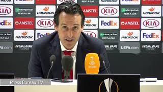 Unai Emery reaction Arsenal vs Rennes