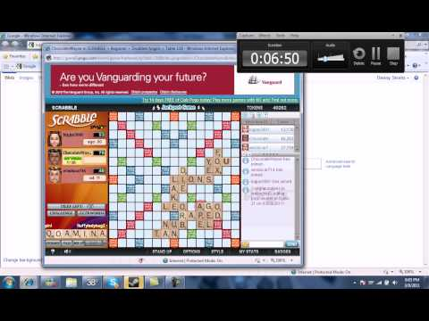 ChocolateWayne's Pogo Adventures: Scrabble 2/4