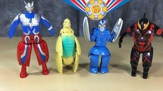 Video Ultra Eggs: Ultraman Zero, Red King, Alien Baltan, Ultraman Belial download MP3, 3GP, MP4, WEBM, AVI, FLV Februari 2018