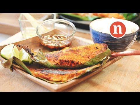 Malaysian Grilled Stingray | Ikan Pari Bakar [Nyonya Cooking]