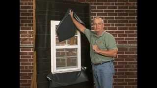 Flashing the Window Head & Sill