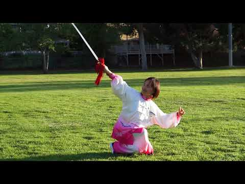 Chen Style Taichi Sword Basic Forms Part I with Victoria Li