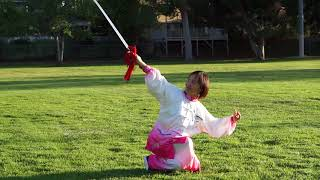Chen Style Taichi Sword Basic Forms (Part I) With Victoria Li
