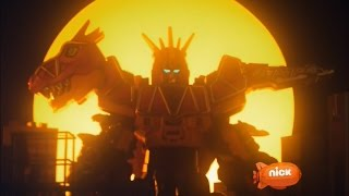 Video Power Rangers Dino Charge - Breaking Black - Megazord Fight | Episode 5 download MP3, 3GP, MP4, WEBM, AVI, FLV Agustus 2018