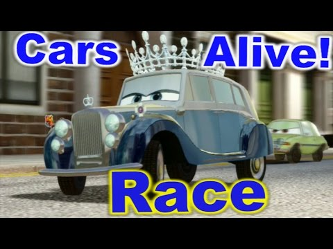 Cars 2 The Video Game The Queen Race On Hyde Tour Youtube