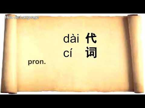 HSK 1 Basic 150 Mandarin Chinese words | Hua Jie Language