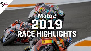 2019 #ValenciaGP | Moto2 Race Highlights