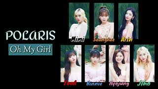 Oh My Girl (????) - Polaris [Color Coded Lyrics Eng/Rom/Han]