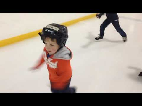 Learn to skate Learn to play hockey