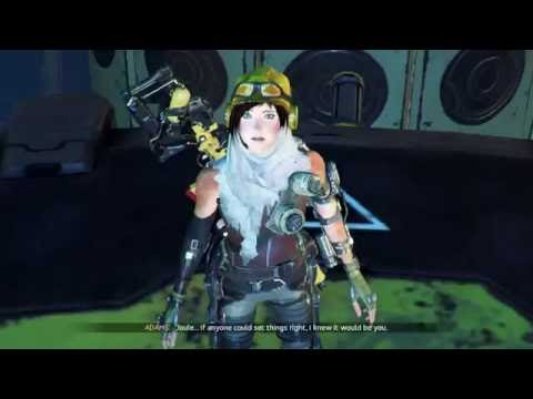 ReCore - Heart of The Matter: Analyzer Cutscene & Shoot Cores (Drop Energy Level Overload) Gameplay