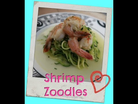 Shrimp Zoodles   Healthy Eating   Diet for GERD