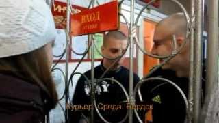 Отправка призывников в Бердске