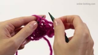 ВОЗДУШНЫЕ ПЕТЛИ СПИЦАМИ. ПРИБАВЛЕНИЯ ПЕТЕЛЬ ПО КРАЮ ПОЛОТНА. Increasing Knit Stitches.