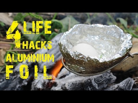 4 Amazing life hacks with Aluminium Foil that Manufacturers do not know