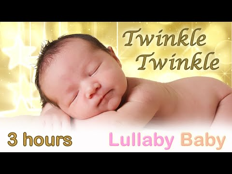 🌟 3 HOURS 🌟 Twinkle Twinkle Little Star ♫ ❤️ 🌟 MUSIC BOX 🌟 Lullaby for babies to go to sleep