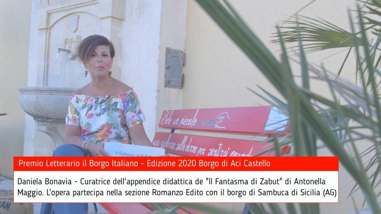 Daniela Bonavia per Sambuca di Sicilia su Premio Letterario il Borgo Italiano TV