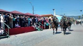 Desfile Regimiento GRANADEROS Quillota 2015