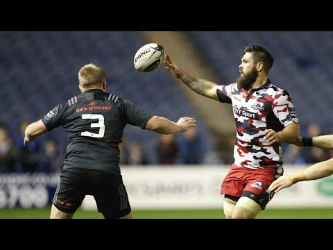 Munster's game saving charge v Edinburgh