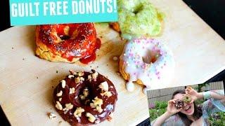 Easy Guilt & Gluten Free Donuts! Bakes In 15 Min!