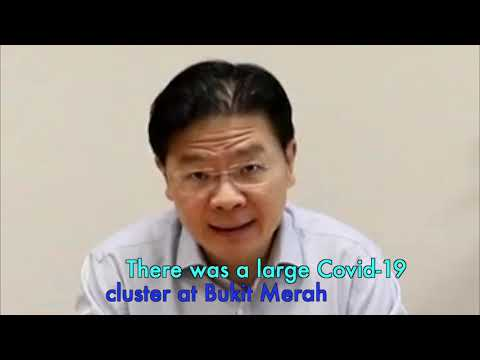 Lawrence Wong's COVID19 self-test, talks about the possible delay in transitioning to phase 3.