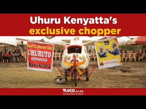 They built a chopper for Uhuru Kenyatta and in return he awarded them Ksh.500,000
