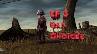 The Walking Dead Ep. 5 No Time Left - Bad/Failed Choices Complete (PS4 1080p60fps)
