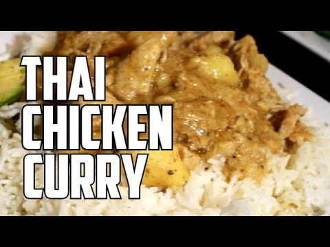 How I Cook My Thai CURRY CHICKEN  For My Sunday Dinner Recipe By | Chef Ricardo Cooking