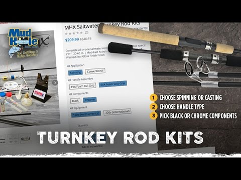 Custom Turnkey Rod Building Kits