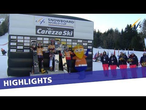 Ester Ledecka unbeatable in Carezza PGS World Cup opener   Highlights