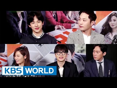 """Interview for """"One Line"""" : Lim Siwan, Jin Goo, etc [Entertainment Weekly / 2017.03.27]"""